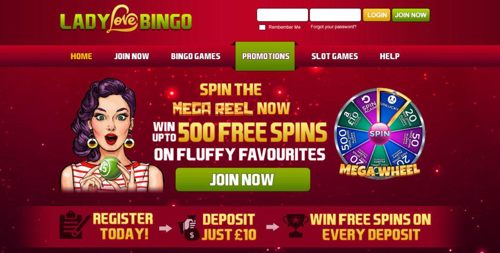 New Bingo Site Lady Love Bingo
