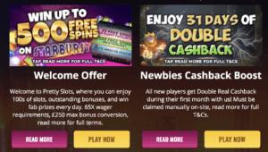 New Slot Sites UK Pretty Slots